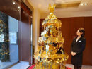 $4.2 Million Solid Gold Christmas Tree