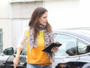 Jennifer Garner's Car:  It's Electric!  Boogie-Woogie-Woogie-Woogie!