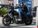 Charlie Hunnam's Car:  The British Star Drives the Quintessential American Bike