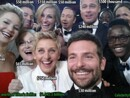 What Was The Combined Net Worth Of Ellen's Oscar Selfie?