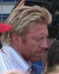 Boris Becker in Coach: Nick Bollettieri