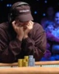 James Woods in National Heads-Up Poker Championship