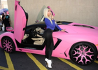 Nicki Minaj's Car:  It's Bright Pink… Need We Say More?