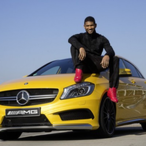 Usher's Car:  A Luxury Vehicle Placeholder for an Even More Lux Vehicle
