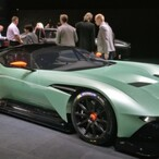 For $2.3 Million, Every Aston Martin Vulcan Better Come With A Super Model In The Passenger Seat