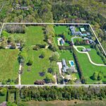 Live Like A Hedge Fund Billionaire On This $55 Million 23-Acre Equestrian East Hampton Estate