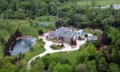 Amazing Aerial Photos Of Rapper Mansions