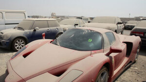 Thumbnail for Rich Jerk Abandoned a $1.6 Million Ferrari Enzo in Dubai