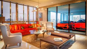 Thumbnail for Rich People In Singapore Park Their Ferraris In The Living Room