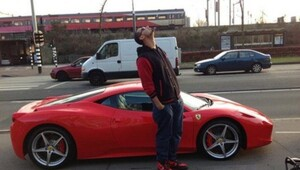 Thumbnail for Afrojack's Car:  Afrojack Jacks Up His Ferrari in Record Time