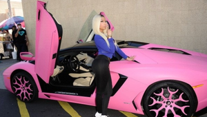 Thumbnail for Nicki Minaj's Car:  It's Bright Pink... Need We Say More?