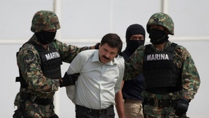 "Thumbnail for Billionaire Drug Lord Joaquin ""El Chapo"" Guzman, AKA The World's Most Wanted Fugitive, Finally Captured At Mexican Beach Resort"