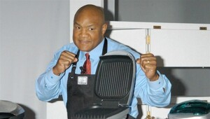 Thumbnail for George Foreman Reveals Exactly How Much He Made Off His Famous Grill