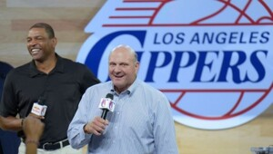 Thumbnail for Everything You Need To Know About The Life And Times Of Microsoft Billionare And New Clippers Owner Steve Ballmer