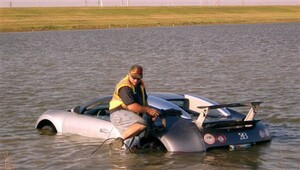 Thumbnail for Man Faces 20 Years In Prison For Deliberately Crashing $1 Million Bugatti Into A Lake For Insurance Scam. Crazy Story - With Video!
