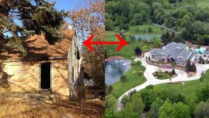 Thumbnail for Childhood Homes of Celebrities Compared To Their Current Mansions