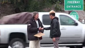Thumbnail for Christmas Miracle Raises Small Fortune For The Most Generous Homeless Guy Ever - Amazing Story!
