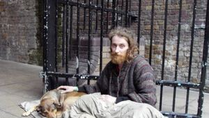 "Thumbnail for British Student Launches Miraculous Fundraiser For ""Homeless Hero"" Who Helped Her In A Pinch"