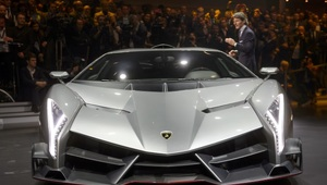Thumbnail for Behold! The Lamborghini Veneno Is The Most Expensive Production Road Car In History