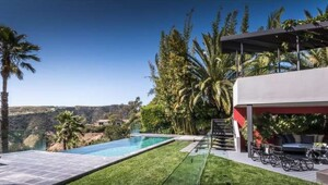 Thumbnail for Trent Reznor's Modern Beverly Hills Oasis Lists For $4.4 Million