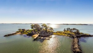 Thumbnail for Forget The Caymans, This $11 Million Private Island Is Just A Short Helicopter Ride From Manhattan