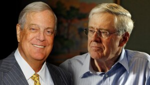 Thumbnail for Last Week, The Koch Brothers Each Lost $2 Billion in One Day… And They Probabably Didn't Even Notice.