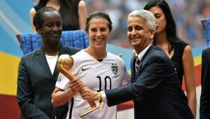 Thumbnail for Carli Lloyd's Popularity Is Skyrocketing – But Will Her Bank Balance Do The Same?