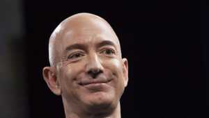 Thumbnail for Amazon Founder Jeff Bezos Sees His Net Worth Jump $8 Billion In Less Than 1 Hour…