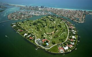 If You Live On This Teeny Tiny Miami Island, You've Won The Game Of Life