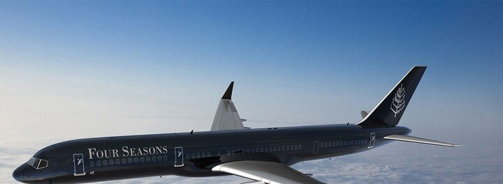 Fly The Friendly And Luxurious Skies Around The World In The Four Seasons' New Private Jet