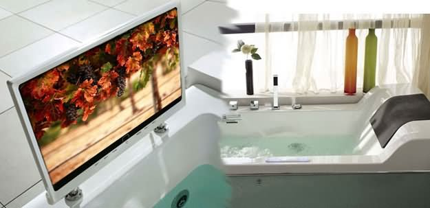 Luxury Bathtub that will save you from drowning