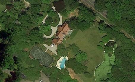 Muammar Gaddafi had a home in Englewood, New Jersey, USA