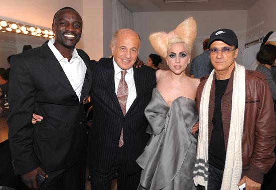 Lady Gaga Akon Jimmy Iovine