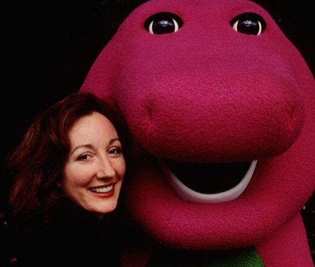 Sheryl Leach and Barney