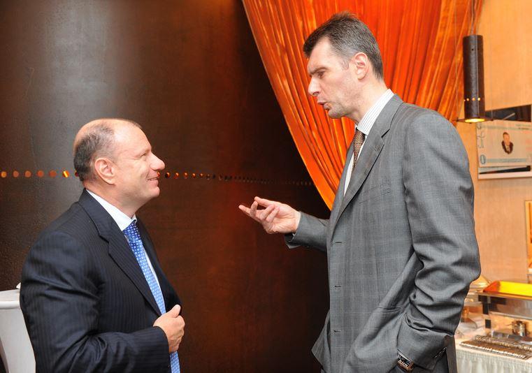 Vladimir Potanin & Mikhail Prokhorov